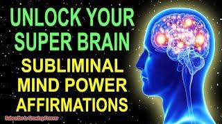 Program Your Mind Power For Extreme Intelligence! Subliminal GENIUS Affirmations While You Sleep