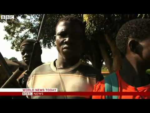 BBC News   Central African Republic  Abandoned and burnt villages