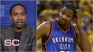 Kevin Durant joining the Warriors is 'the weakest move I've ever seen from a superstar' - Stephen A.