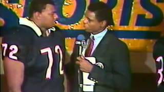 NFL Today Post Game Show 1985 Week 11