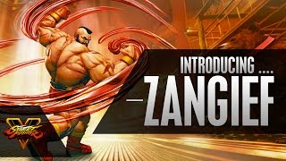 Street Fighter V - Character Introduction Series - Zangief