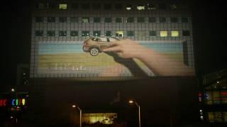 BMW JOY 3D: Asia''s 1st Interactive 3D Building Projection