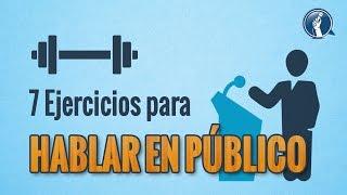 7 ejercicios para hablar en público correctamente