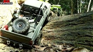 9 Trucks RC Offroad Adventures At Bangkit Road! Mudding