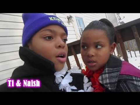 Polar Freeze Playtime | Ti&Naish Vlog | January 25th, 2014
