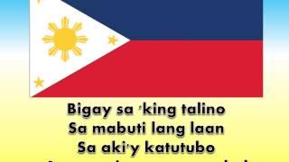 Ako Ay Pilipino W/ Lyrics.