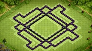 Clash Of Clans Great Town Hall 10 Trophy Base (The