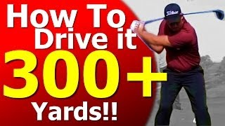 How To Hit Over 300 YARDS: Scott Stallings Golf Analysis