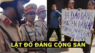 Phật Giáo Hoà Hảo tổng nổi dậy diệt Cộng Sản vì CSGT Công an bảo kê côn đồ bao vây tấn công tín đồ