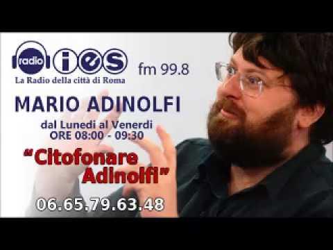 FRANCESCO BEI (di Repubblica, VOTO PALESE DECADENZA BERLUSCONI) CITOFONARE ADINOLFI RADIO IES