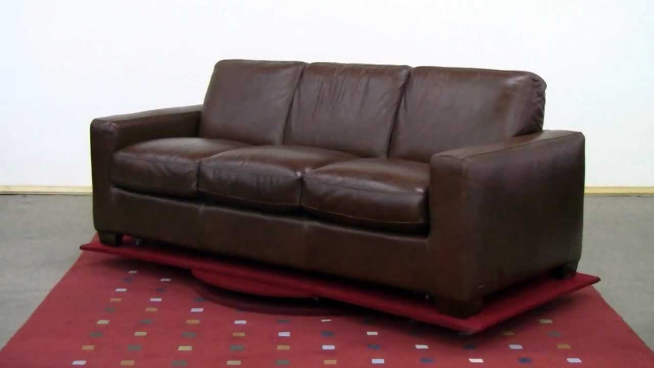 the rubicon  b534  queen leather sleeper sofa by natuzzi editions review at sleepers in seattle