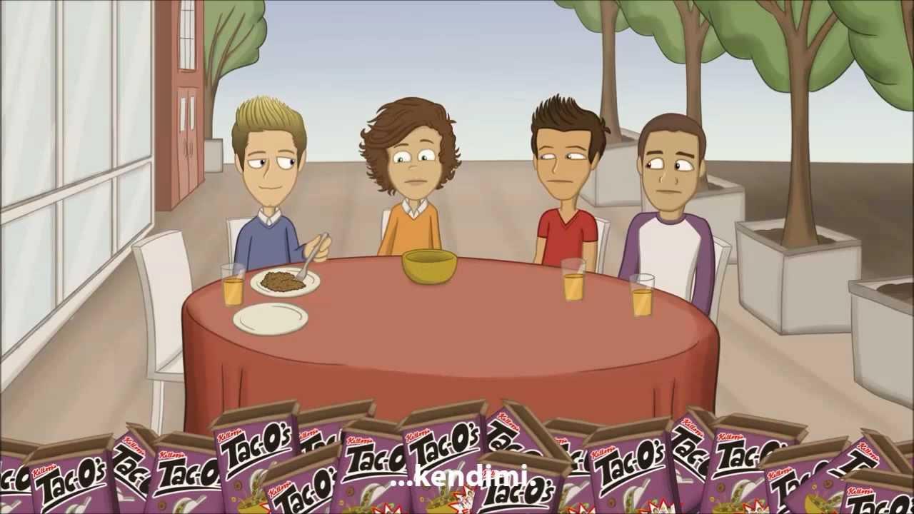 One Direction'ın Tehlikeli Maceralararı Yeni-Türkçe Altyazıl