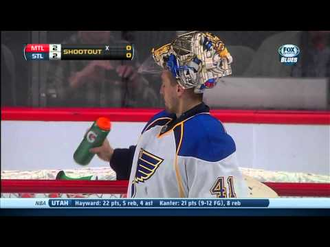Full shootout St. Louis Blues vs Montreal Canadians 11/5/13 NHL Hockey.