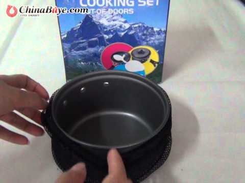 DS-200 Outdoor Camping Cookware Cooking Set for 1-2 Person