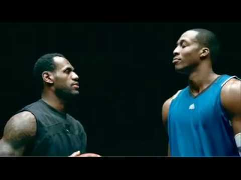 FULL VERSION: McDonald's Commercial with LeBron James and Dwight Howard, Broadcast before the kickoff of Super Bowl XLIV, NBA stars Dwight Howard and LeBron James star in a remake of iconic 1993 Super Bowl commercial The Showdown,...