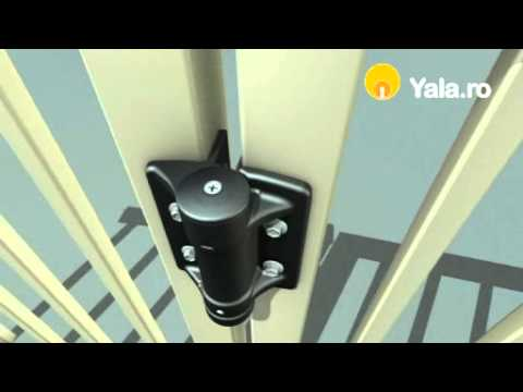 Balama porti metalice TruClose Standard - Yala.ro