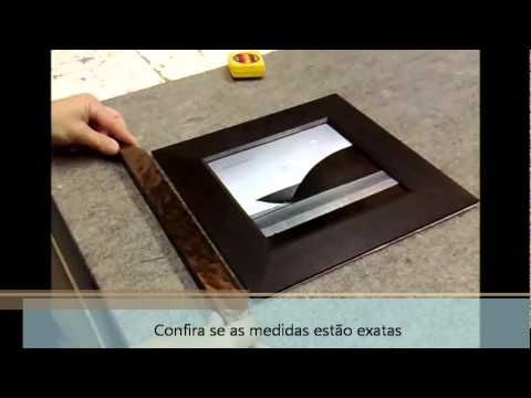 Moldurarte - Video passo a passo como usar a moldura 5025.wmv