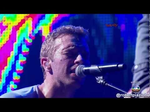 Tema internacional de Antenor e Patricia - Coldplay - Paradise - (HD1080p) Rock in Rio 2011