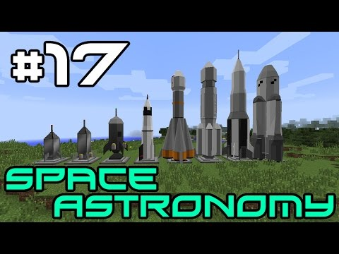 Minecraft Space Astronomy - Autoprocessing Stuff! #17