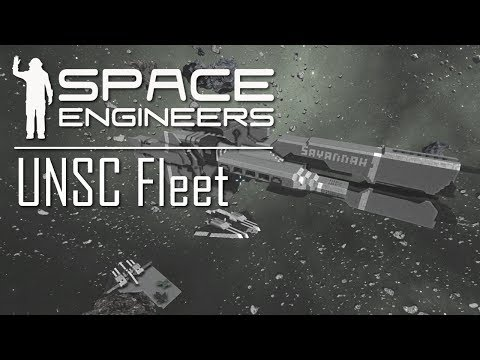 Space Engineers - Halo UNSC Fleet