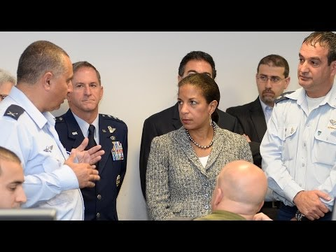NSA Susan Rice reaffirms U.S. support for Israel's security
