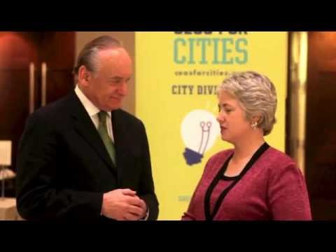 Lee Fisher, President and CEO, CEOS of Cities interviewed Mayor Annise D. Parker, Houston Mayor Talent Dividend National Network Meeting in Houston, Texas April 2012