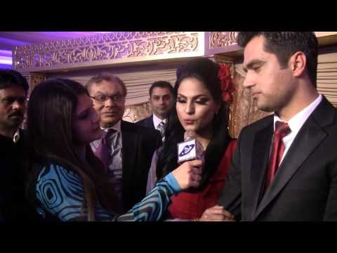 Veena Malik interviewing with Asma Sheen reporter cniuk