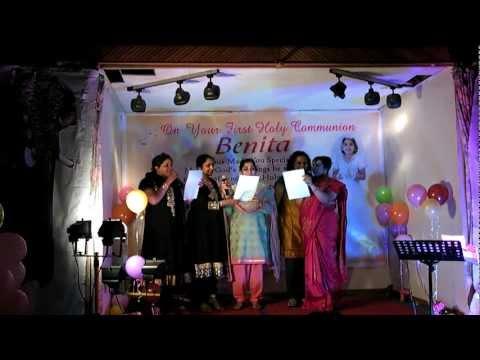 BENITA HOLYCOMMUNION EVENT -UK -MALLU  POP SPICE GIRLS