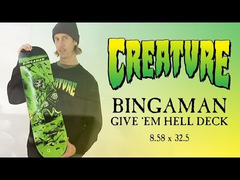 Creature Bingaman Give 'Em Hell Deck