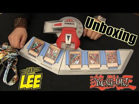 Unboxing Yu-Gi-Oh Duel Disk + Goodies   Geschenk von DerLee ♥