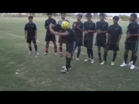 Freestyle Football Juggling of Tariq From Shahdadkot Branch