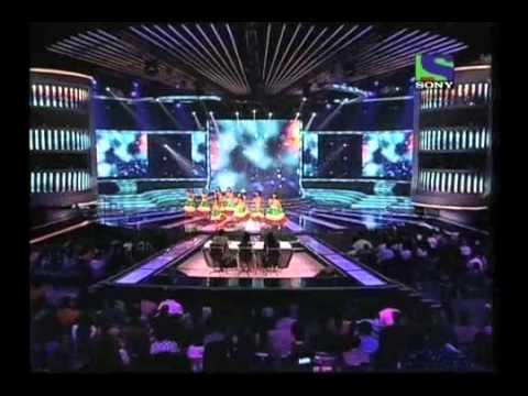 Last Minute's Hawaian Dance on Na Mangu Heera Moti - X Factor India - Episode 12 - 24 June 2011