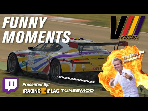 V3 Racing   Highlights & Funny Moments