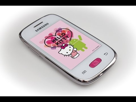Samsung Galaxy Pocket Neo Hello Kitty - Unboxing and review