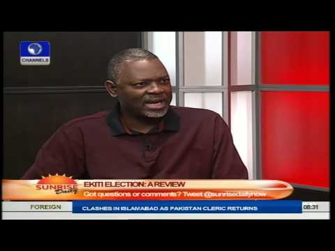 Politician Advocates Fractionalising Of Elections In Nigeria Part3