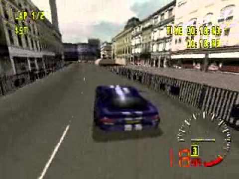 Velhos tempos no Test Drive 5 (PS1)