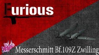 Messerschmitt Bf.109Z. Двое из ларца.