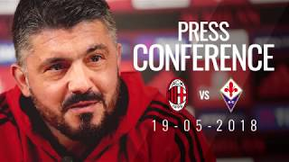 Gattuso's press conference ahead of #MilanFiorentina in 60 seconds