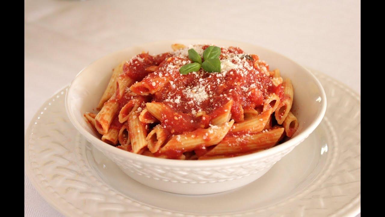 Delicious Homemade Italian Marinara Sauce - Red Sauce Recipe - YouTube