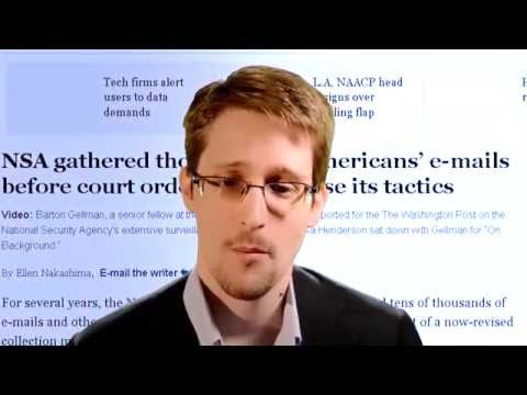 Edward Snowden Statement @ Munk Debate on State Surveillance