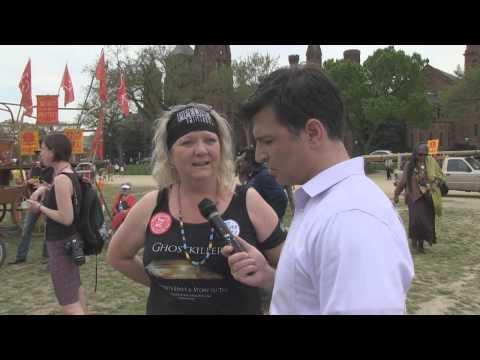 MRCTV at the Keystone XL Pipeline Protest