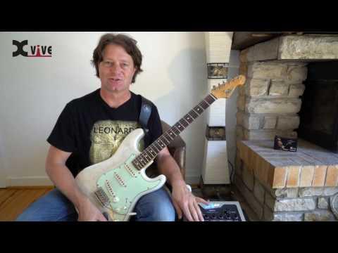 X Vive XU2BL Wireless Guitar System - Blue