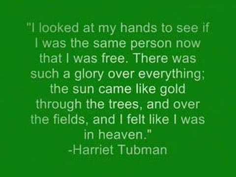 Harriet Tubman and the Underground Railroad - YouTube