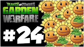 Plants vs. Zombies Garden Warfare Walkthrough - SUNSPLOSION!! Part 24!! Gameplay  (1080p HD)