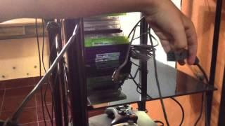 Conectar Una Xbox 360 A La Televisión Cables De La