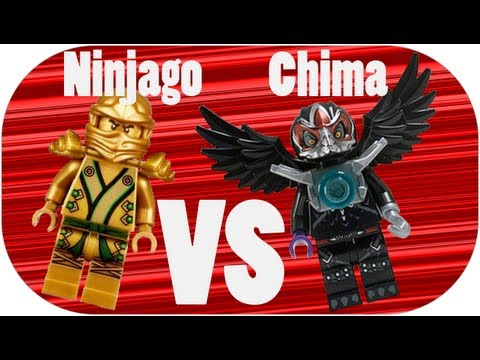 LEGO Ninjago VS LEGO Chima