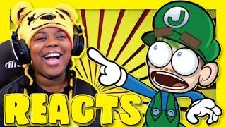 BEST EVER   Jacksepticeye Animated   Super Mario Maker   James Farr Reaction   AyChristene Reacts