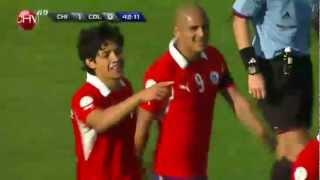 Chile 1 Colombia 3 Clasificatorias Brasil 2014