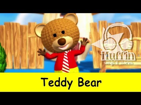 Teddy Bear   | nursery rhymes & children songs with lyrics