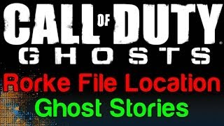 COD Ghosts: Ghost Stories Rorke File Location (Call Of